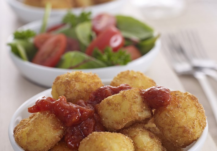Patatas Bravas with a Twist (Side Dish)