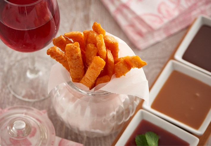 Sweet Potato Fries Dessert